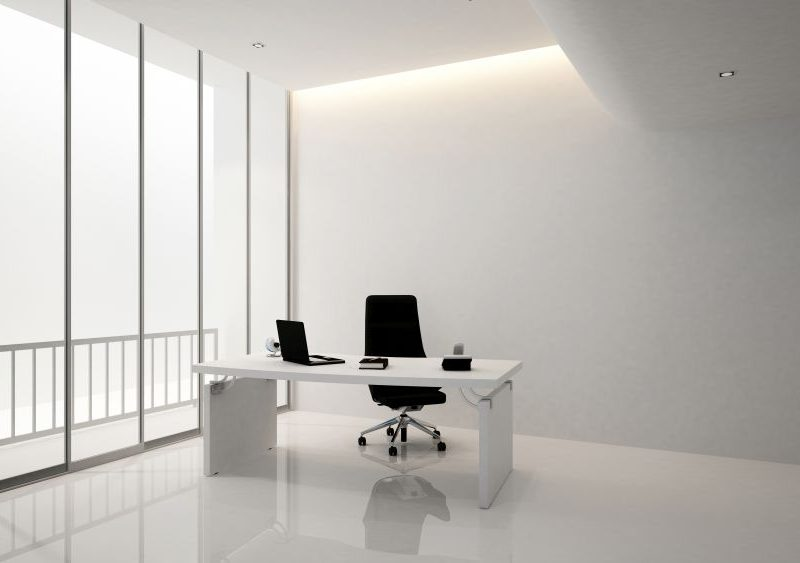 manager room or pesidence room in office building - 3D Rendering